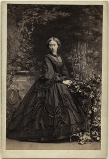 Princess Alice, Grand Duchess of Hesse, by Camille Silvy, 4 July 1861 - NPG  - © National Portrait Gallery, London