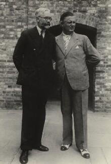 James Beaumont Strachey; Fritz Busch, by Unknown photographer - NPG x24012