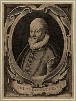Orlande de Lassus (or Orlandus Lassus, Orlando di Lasso, Roland de Lassus), by Nicolas de Larmessin - NPG D25675
