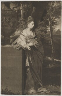 Theresa Parker, by Thomas Watson, after  Sir Joshua Reynolds - NPG D31996