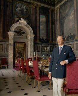 John George Vanderbilt Spencer-Churchill, 11th Duke of Marlborough, by Bern Schwartz - NPG P1204