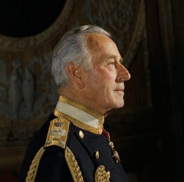 Louis Mountbatten, Earl Mountbatten of Burma, by Bern Schwartz - NPG P1218