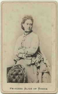 Princess Alice, Grand Duchess of Hesse, by Unknown photographer - NPG x26118