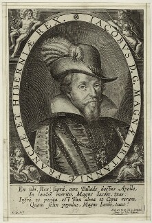 King James I of England and VI of Scotland, by C.G., probably early 17th century - NPG D25687 - © National Portrait Gallery, London