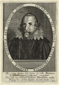 King James I of England and VI of Scotland, after Unknown artist - NPG D25700