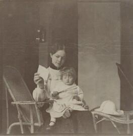 Ruby Julia Strachey (née Mayer); Julia Frances Strachey, by Unknown photographer, August 1902 - NPG x129609 - © National Portrait Gallery, London