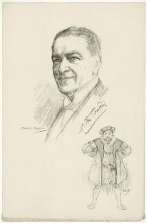 Arthur Bourchier, after Charles Buchel (Karl August Büchel), and after  John Hassall - NPG D32009