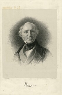 Sir Thomas Bourchier, by James Henry Lynch, printed by  M & N Hanhart, after  Samuel Laurence - NPG D32010