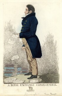 Thomas Rowcroft ('A Royal Exchange Consul General'), by and published by Richard Dighton - NPG D9031
