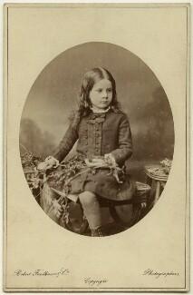 Pippa Strachey, by Robert Faulkner & Co, circa 1879 - NPG x13139 - © National Portrait Gallery, London
