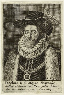 King James I of England and VI of Scotland, after Unknown artist - NPG D25703