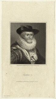 King James I of England and VI of Scotland, by R. Cooper - NPG D25704