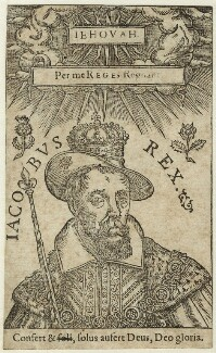 King James I of England and VI of Scotland, after Unknown artist - NPG D25705