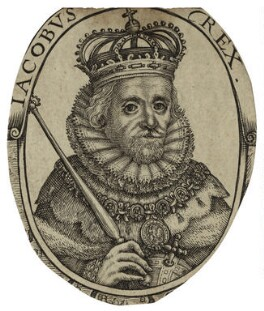 King James I of England and VI of Scotland, after Unknown artist - NPG D25707