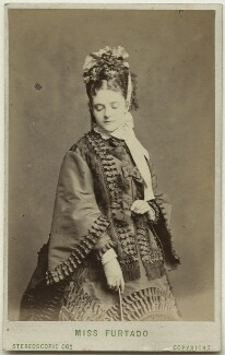 Teresa Elizabeth Furtado (Mrs John Clarke), by London Stereoscopic & Photographic Company - NPG Ax28497