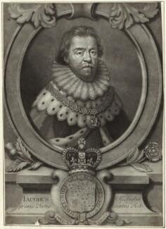King James I of England and VI of Scotland, after Paul van Somer - NPG D25710