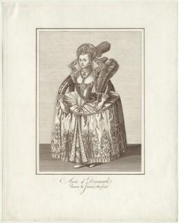Anne of Denmark, after Unknown artist - NPG D25728