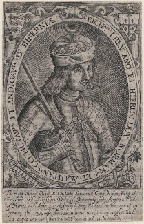 King Richard I ('the Lionheart'), probably by Renold or Reginold Elstrack (Elstracke) - NPG D32012