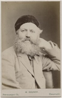 Charles François Gounod, by London Stereoscopic & Photographic Company - NPG Ax28536
