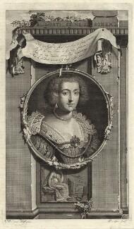 Princess Elizabeth, Queen of Bohemia and Electress Palatine, by Pieter Stevens van Gunst, after  Gerrit van Honthorst - NPG D25745