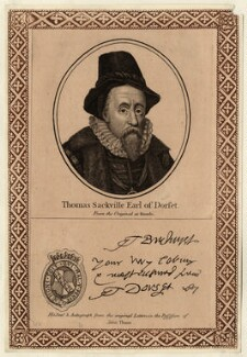 Edward Sackville, 4th Earl of Dorset, printed and published by John Thane - NPG D25753