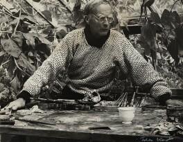 Ivon Hitchens, by Ida Kar - NPG x131077