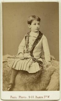 Oliver Strachey, by Thomas Fall, 1879 - NPG x13861 - © National Portrait Gallery, London
