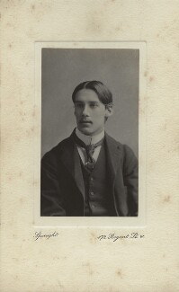 Oliver Strachey, by Frederick & Richard Speaight, 1890s - NPG x13862 - © National Portrait Gallery, London