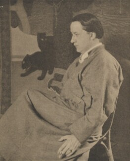 Edmund Dulac, by Alvin Langdon Coburn, published by  Duckworth & Co - NPG Ax7861
