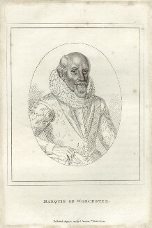 Edward Somerset, 4th Earl of Worcester, published by George Smeeton, after  Federico Zuccaro - NPG D25773