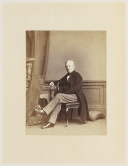 Robert Hunt, by Ernest Edwards, published by  Lovell Reeve & Co - NPG Ax13919