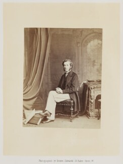John Pyke Hullah, by Ernest Edwards, published by  Alfred William Bennett - NPG Ax14764