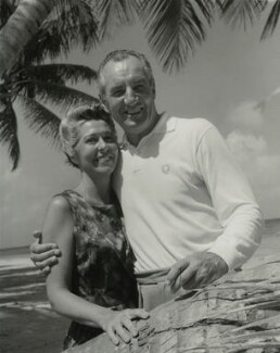 Fred Perry and Barbara ('Bobby') Friedman (née Riese), by Francis Goodman - NPG x131060