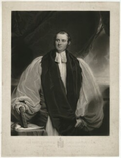 James Bowstead, by Henry Cousins, published by  Paul and Dominic Colnaghi & Co, published by  Robert Roe, after  Sir Martin Archer Shee - NPG D32023