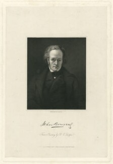 Sir John Bowring, by William Holl Jr, after  Bryan Edward Duppa - NPG D32024