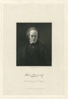 Sir John Bowring, by William Holl Jr, after  Bryan Edward Duppa, published 1840 - NPG D32024 - © National Portrait Gallery, London