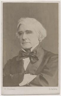 Samuel Carter Hall, by Ferdinand Jean de la Ferté Joubert - NPG Ax7516