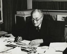 Sir Alan Patrick Herbert, by Ida Kar - NPG x131093