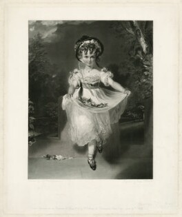 Louisa Georgiana Augusta Anne Boyce (née Murray) ('The Child with Flowers'), by and published for George Thomas Doo, published by  Sir Francis Graham Moon, 1st Bt, after  Sir Thomas Lawrence - NPG D32029
