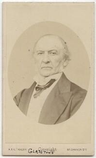 William Ewart Gladstone, by Andrew & George Taylor - NPG x5947