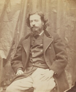 Alphonse Legros, by Lewis Carroll (Charles Lutwidge Dodgson), 6 October 1863 -NPG P1273(20a) - © National Portrait Gallery, London