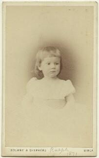 Ralph Strachey, by Bourne & Shepherd, 1871 - NPG x13154 - © National Portrait Gallery, London
