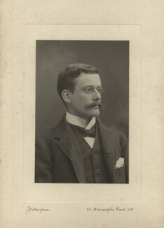 Ralph Strachey, by Henry Bullingham, 1890s - NPG x13161 - © National Portrait Gallery, London
