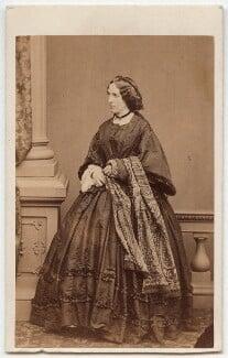 Catherine Gladstone (née Glynne), by Mayall - NPG x6055