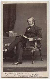 Granville George Leveson-Gower, 2nd Earl Granville, by John & Charles Watkins - NPG x32953