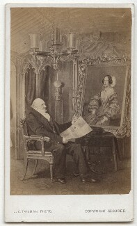 Sir Moses Haim Montefiore, 1st Bt, by John Crow Twyman, after  Unknown artist - NPG x129557