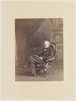 Sir Charles Lyell, 1st Bt, by Ernest Edwards, published by  Lovell Reeve & Co - NPG Ax13821