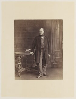Sir George Gilbert Scott Sr, by Ernest Edwards, published by  Lovell Reeve & Co - NPG Ax13828