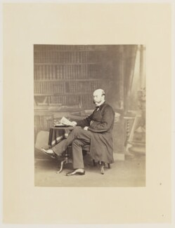 James Fergusson, by Ernest Edwards, published by  Lovell Reeve & Co, published 1863 - NPG Ax13840 - © National Portrait Gallery, London