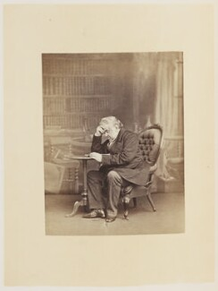 Sir Anthony Panizzi, by Ernest Edwards, published by  Lovell Reeve & Co, published 1864 - NPG Ax13904 - © National Portrait Gallery, London